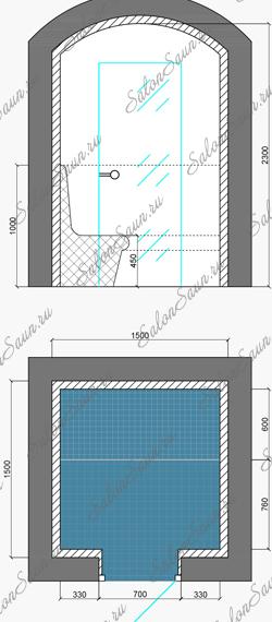 Проект и дизайн хамама